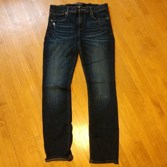 Express, Skinny, mid rise regular stretch Jeans